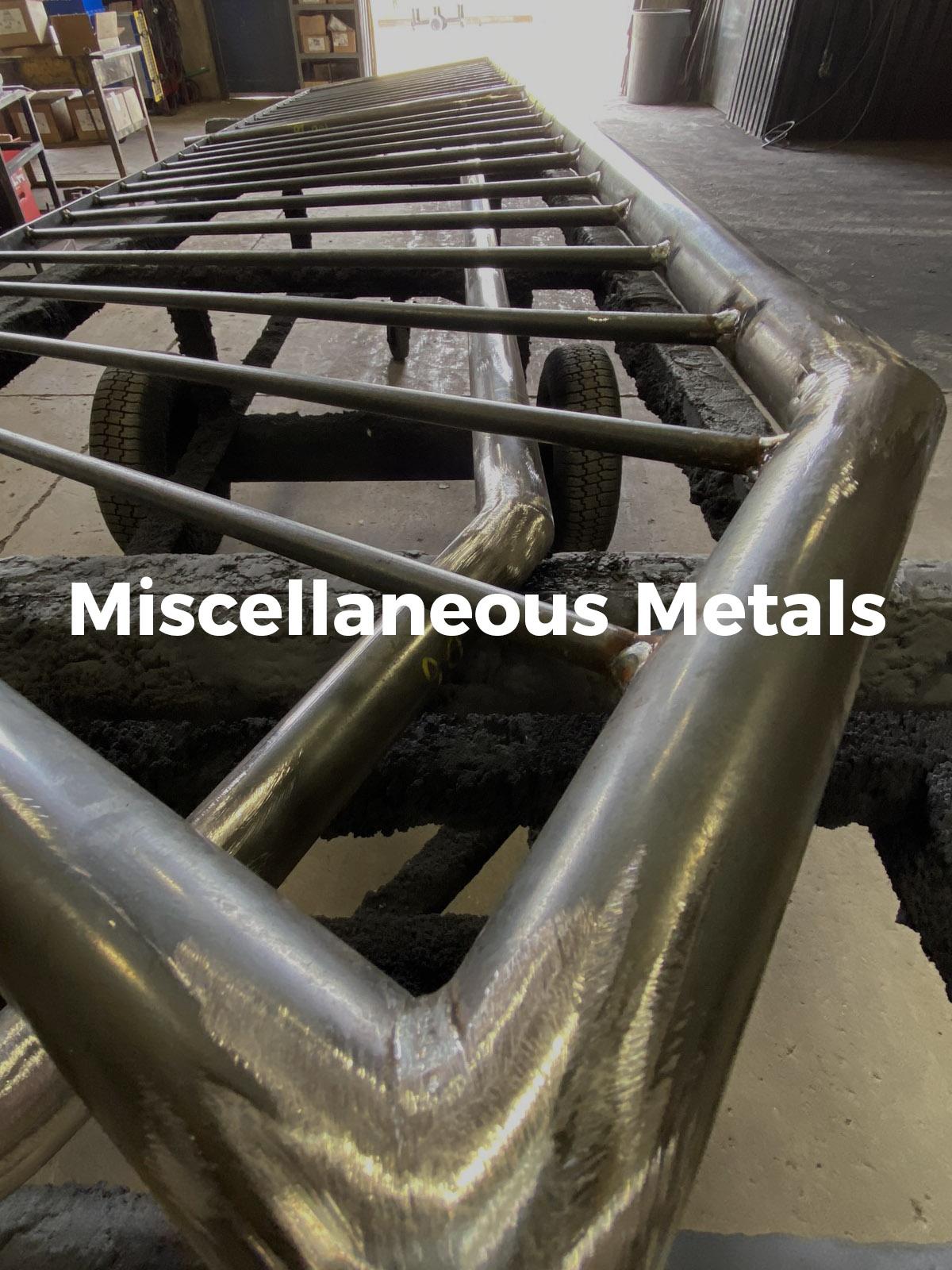 Miscellaneous Metals